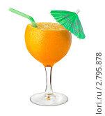 Купить «Натуральный апельсиновый сок», фото № 2795878, снято 20 августа 2011 г. (c) Антон Стариков / Фотобанк Лори