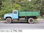 Купить «Старый советский грузовой автомобиль-самосвал ЗиЛ-130», эксклюзивное фото № 2796386, снято 4 сентября 2011 г. (c) Дмитрий Абушкин / Фотобанк Лори