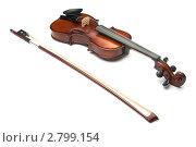 Купить «Скрипка», фото № 2799154, снято 27 февраля 2011 г. (c) Максим Лоскутников / Фотобанк Лори