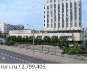 Купить «Здание Рособоронэкспорта, улица Стромынка, 27, Москва», эксклюзивное фото № 2799406, снято 13 августа 2011 г. (c) lana1501 / Фотобанк Лори