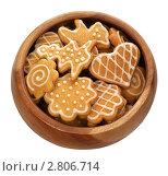 Купить «Имбирное печенье», фото № 2806714, снято 13 сентября 2011 г. (c) Наталья Бидюкова / Фотобанк Лори