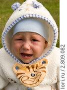 Купить «Плачущий малыш», фото № 2809082, снято 18 сентября 2011 г. (c) Katerina Anpilogova / Фотобанк Лори