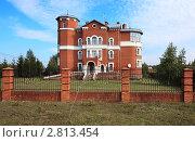 Купить «Современный коттедж. Омск», фото № 2813454, снято 16 сентября 2011 г. (c) Юлия Машкова / Фотобанк Лори