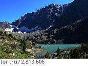 Горное озеро. Стоковое фото, фотограф Кирьянова Наталия / Фотобанк Лори