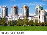 Новый район. Стоковое фото, фотограф Кирьянова Наталия / Фотобанк Лори