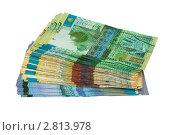 Купить «Деньги Казахстана», фото № 2813978, снято 23 марта 2019 г. (c) Александр Малышев / Фотобанк Лори