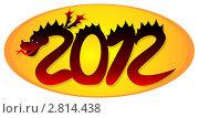 Купить «Дракон 2012», иллюстрация № 2814438 (c) ivolodina / Фотобанк Лори