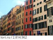 Купить «Генуя. Старый город. Via di Porta Soprana», эксклюзивное фото № 2814962, снято 19 сентября 2011 г. (c) Татьяна Лата / Фотобанк Лори