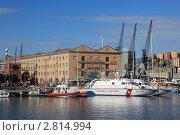 Купить «Генуя. Порт», эксклюзивное фото № 2814994, снято 19 сентября 2011 г. (c) Татьяна Лата / Фотобанк Лори