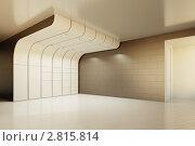 Купить «Интерьер пустой комнаты», иллюстрация № 2815814 (c) Юрий Бельмесов / Фотобанк Лори