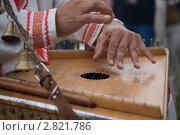Купить «Игра на гуслях», эксклюзивное фото № 2821786, снято 4 сентября 2011 г. (c) Инна Козырина (Трепоухова) / Фотобанк Лори