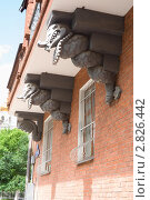 Купить «Декоративные драконы на фасаде дома Перцова в Москве», эксклюзивное фото № 2826442, снято 5 июня 2010 г. (c) Солодовникова Елена / Фотобанк Лори