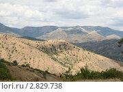 Купить «Горы и небо», фото № 2829738, снято 6 августа 2011 г. (c) Робул Дмитрий / Фотобанк Лори