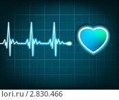 Купить «Сердечный ритм», иллюстрация № 2830466 (c) Владимир / Фотобанк Лори
