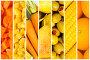 Коллаж из фруктов и овощей, фото № 2836954, снято 5 октября 2015 г. (c) Elnur / Фотобанк Лори