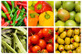 Коллаж из овощей, фото № 2836958, снято 28 августа 2015 г. (c) Elnur / Фотобанк Лори
