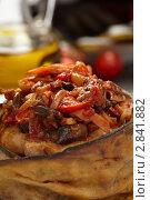 Купить «Фаршированные баклажаны», фото № 2841882, снято 10 февраля 2011 г. (c) Dzianis Miraniuk / Фотобанк Лори
