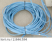 Оптоволоконный кабель. Стоковое фото, фотограф Антон Железняков / Фотобанк Лори