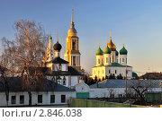 Купить «Коломенский Кремль на закате», фото № 2846038, снято 4 апреля 2009 г. (c) Денис Ларкин / Фотобанк Лори