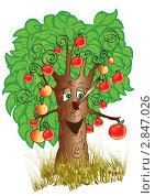 Купить «Яблоня», иллюстрация № 2847026 (c) Рада Коваленко / Фотобанк Лори