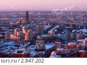 Пейзаж Екатеринбурга (2011 год). Редакционное фото, фотограф Миронов Константин / Фотобанк Лори