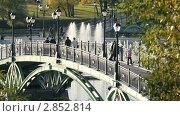 """Купить «Москва. Парк """"Царицыно""""», видеоролик № 2852814, снято 8 октября 2011 г. (c) Сергей Лаврентьев / Фотобанк Лори"""