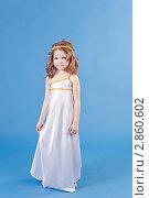 Красивая девочка в платье богини. Стоковое фото, фотограф Марина Теплякова / Фотобанк Лори