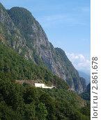 Вид на гору. Стоковое фото, фотограф Анжелика Гальченко / Фотобанк Лори