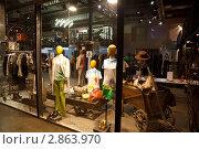 Купить «Витрина бутика с дизайнерской одеждой», фото № 2863970, снято 30 августа 2009 г. (c) Losevsky Pavel / Фотобанк Лори