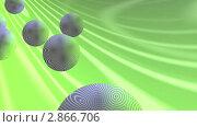 Шары на зелёном фоне. Стоковая анимация, видеограф Valeriu Panfilov / Фотобанк Лори