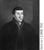 Купить «Николай Коперник на гравюре 1837 года», иллюстрация № 2868702 (c) Georgios Kollidas / Фотобанк Лори