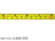 Измерительная лента. Стоковое фото, фотограф Georgios Kollidas / Фотобанк Лори