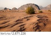 Купить «Вид пустыни Вади Рам, Иордания», фото № 2871226, снято 9 марта 2011 г. (c) Николай Винокуров / Фотобанк Лори