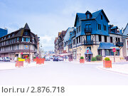 Купить «Довиль. Нормандия. Франция», фото № 2876718, снято 8 октября 2011 г. (c) Екатерина Овсянникова / Фотобанк Лори