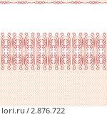Бесшовный узор. Кружево. Стоковая иллюстрация, иллюстратор Татьяна Гришина / Фотобанк Лори