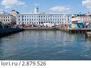 Купить «Городская ратуша в Хельсинки, Финляндия», фото № 2879526, снято 17 июля 2010 г. (c) Ирина Крамарская / Фотобанк Лори