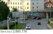 Купить «Городская дорога. Таймлапс», видеоролик № 2880778, снято 22 августа 2011 г. (c) Павел Коновалов / Фотобанк Лори