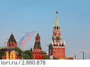Красная площадь. 9 мая (2010 год). Редакционное фото, фотограф Losevsky Pavel / Фотобанк Лори