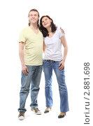 Купить «Счастливая пара», фото № 2881698, снято 4 апреля 2010 г. (c) Losevsky Pavel / Фотобанк Лори
