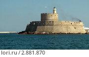 Купить «Порт Родоса», видеоролик № 2881870, снято 6 октября 2011 г. (c) Павел Коновалов / Фотобанк Лори