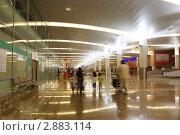 Интерьер аэропорта Шереметьево, фото № 2883114, снято 19 апреля 2010 г. (c) Losevsky Pavel / Фотобанк Лори