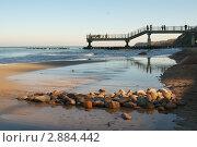 Купить «Берег Балтийского моря», фото № 2884442, снято 18 октября 2019 г. (c) Сергей Куров / Фотобанк Лори