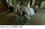 Купить «Свадебная церемония крымских татар в мечети», видеоролик № 2884742, снято 18 октября 2011 г. (c) Владимир Никулин / Фотобанк Лори