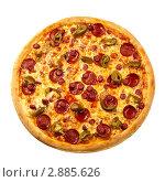 Острая пицца. Стоковое фото, фотограф Сергей Матвеев / Фотобанк Лори