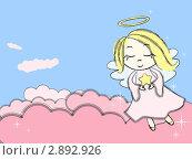 Купить «Волшебный ангел», иллюстрация № 2892926 (c) Евгения Малахова / Фотобанк Лори