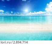 Купить «Море и песок», фото № 2894714, снято 5 марта 2011 г. (c) Iakov Kalinin / Фотобанк Лори