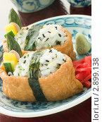 Купить «Соевый творог Тофу с рисом в конвертиках», фото № 2899138, снято 25 апреля 2007 г. (c) Monkey Business Images / Фотобанк Лори