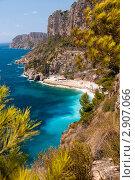 Купить «Живописное морское побережье», фото № 2907066, снято 19 августа 2018 г. (c) Виталий Романович / Фотобанк Лори