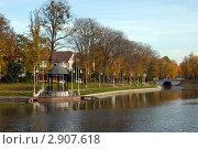 Калининград. Осенний городской пейзаж (2011 год). Стоковое фото, фотограф Svet / Фотобанк Лори