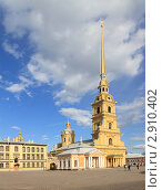 Купить «Санкт-Петербург, вид на Петропавловскую крепость», эксклюзивное фото № 2910402, снято 29 апреля 2011 г. (c) Дмитрий Нейман / Фотобанк Лори